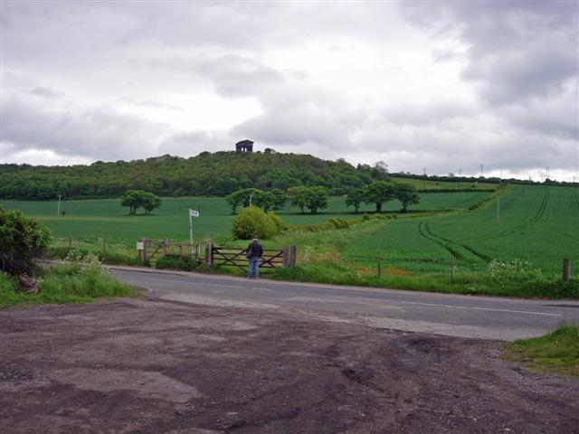 Penshaw Monument as seen from the North