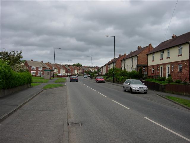 Wensleydale Avenue, Penshaw