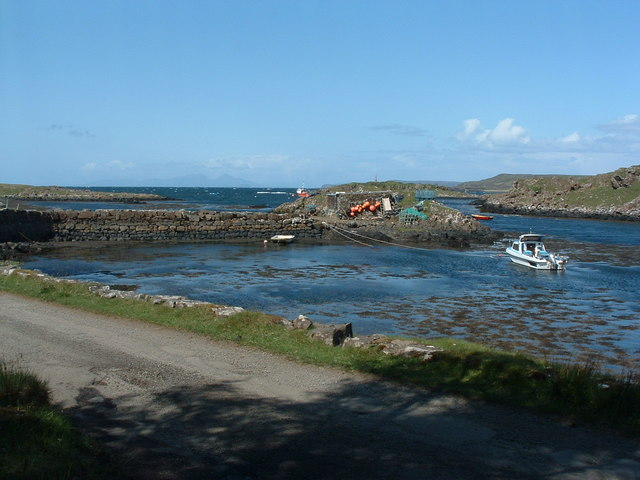 The harbour at Croig