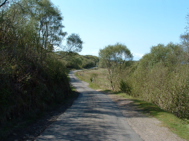 Uphill from Druimghigha