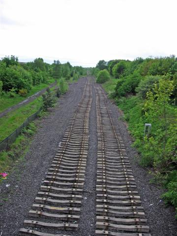 A disused railway line with a story ...