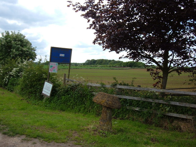 Entrance to 'The Wrongs Farm', Sibbertoft