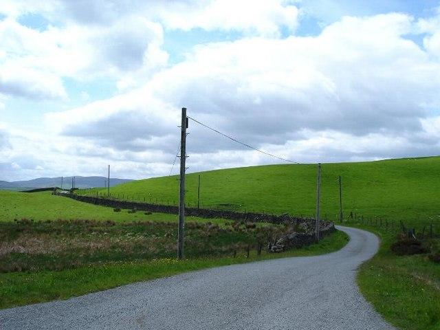 Road to Mynydd Poeth