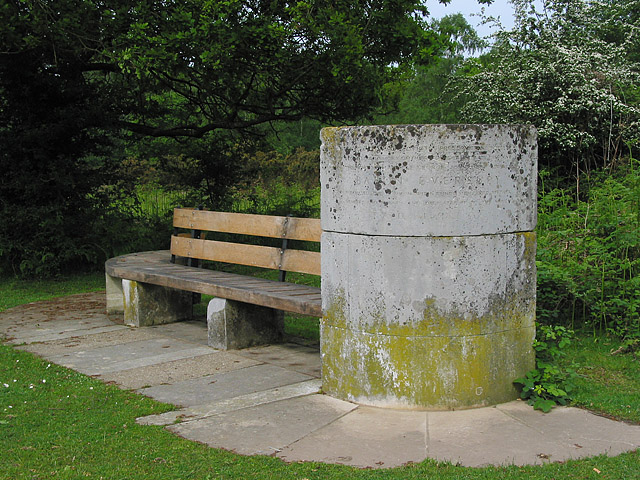 Memorial to the creation of Hightown Common, Ringwood