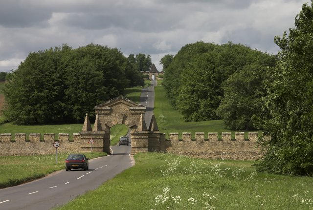The Carrmire gate - Castle Howard
