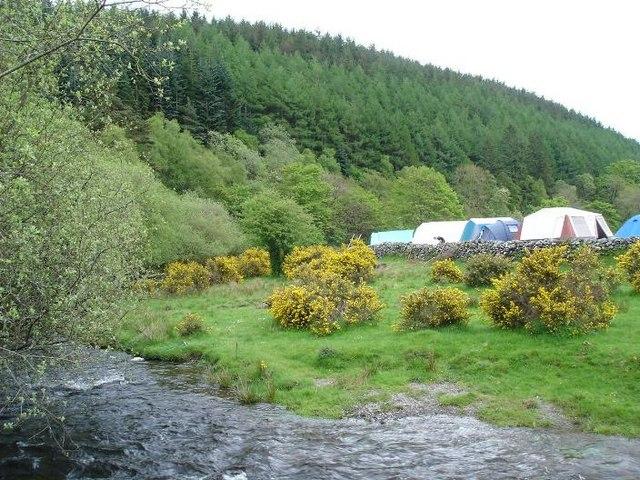 Alwen campsite