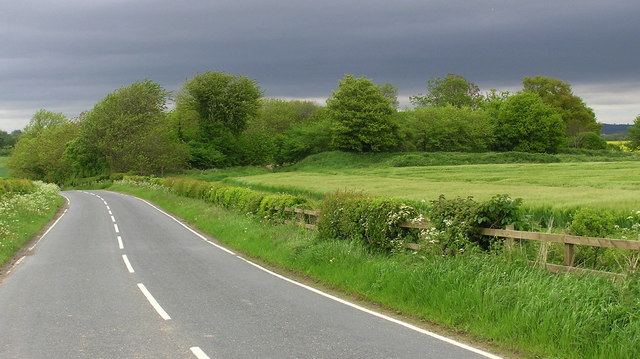 B6274 near Stanwick-St-John.