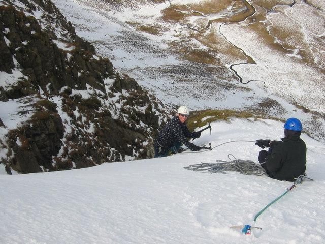 Winter Climbing On The Merrick (Honestly)