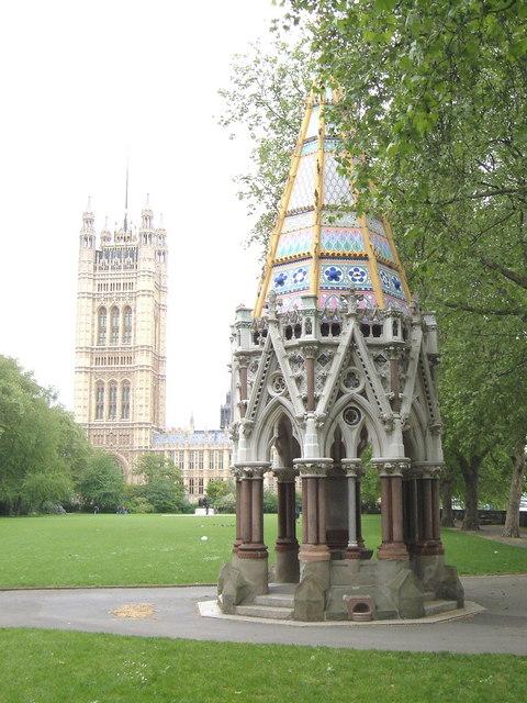 Buxton Memorial Fountain, Victoria Tower Gardens