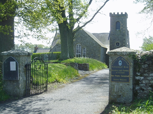 Entrance to Lilliesleaf Kirk