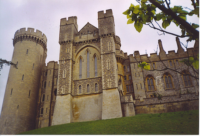 Arundel Castle from the South.
