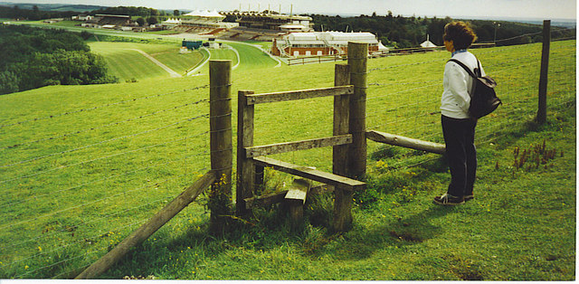 Stile on St Roche's Hill.
