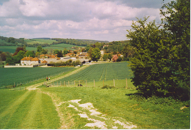 Approaching Singleton from the South.