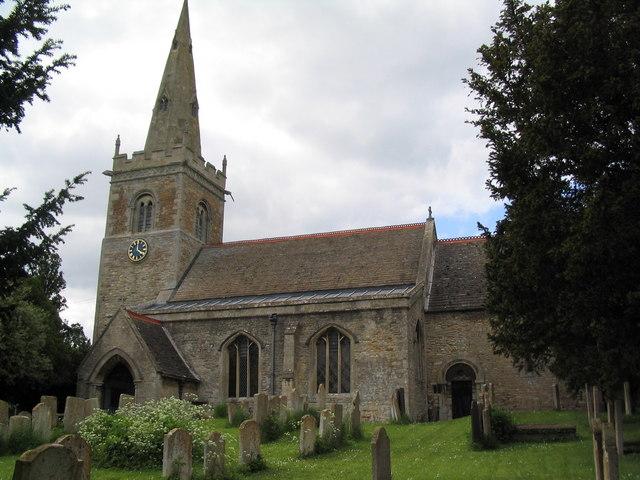 Church of St Medard and St Gildard, Little Bytham