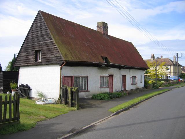 Corrugated metal roof, Rampton, Cambs
