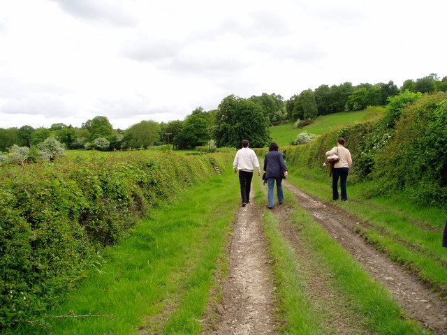 Farm track near Pwllglas