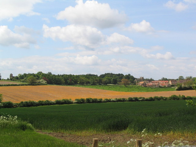 Swinstead from Forstedd Hill