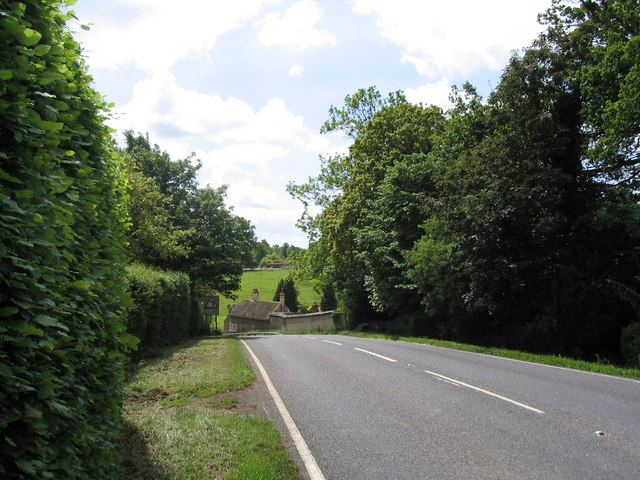 Entering Grimsthorpe