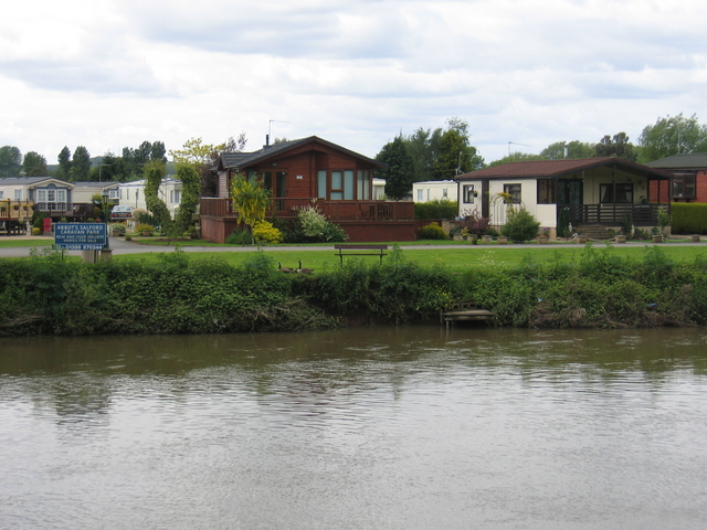 River Avon and Abbot's Salford Caravan Park