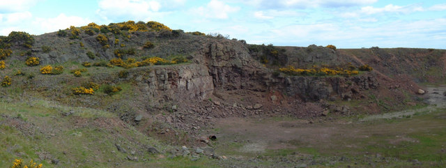 Disused Quarry near Barras