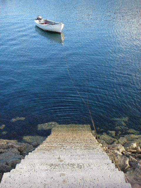Steps to East Loch Tarbert