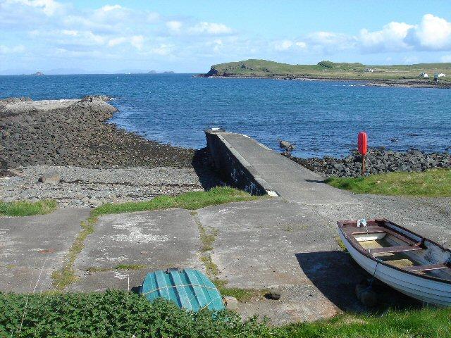 Camas Mor jetty