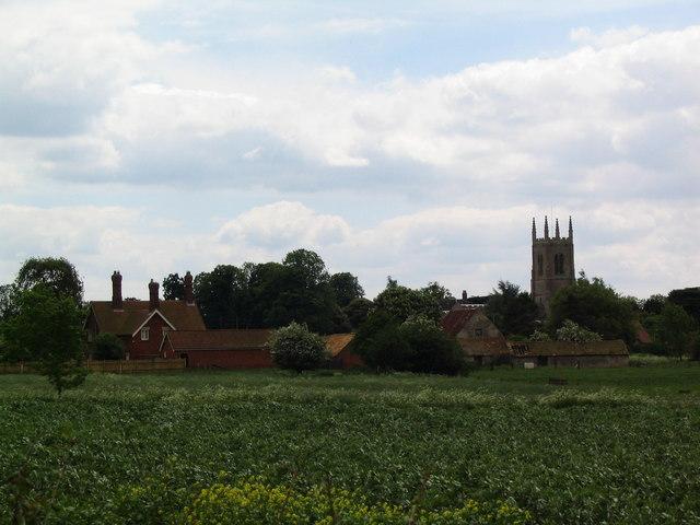 Edenham from the north