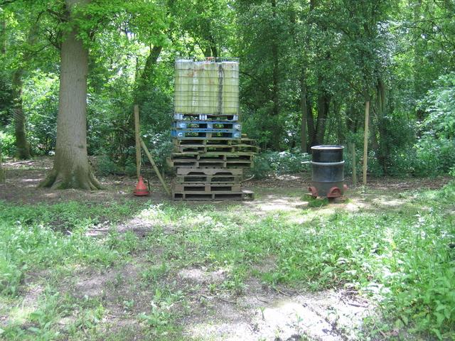 Pheasant feeder by Fox Covert