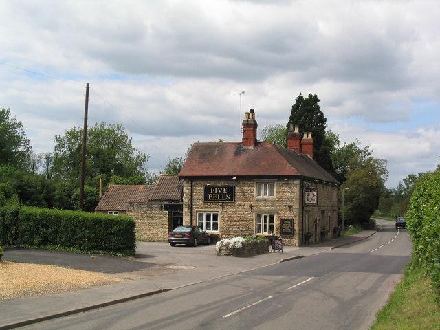 The Five Bells at Edenham