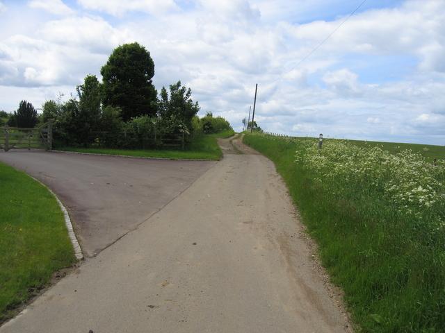 Lane from Dorsington