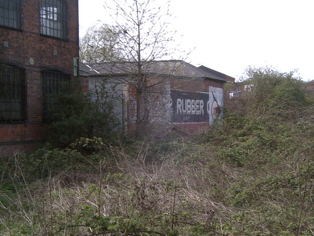 Derelict Factory by The River Soar