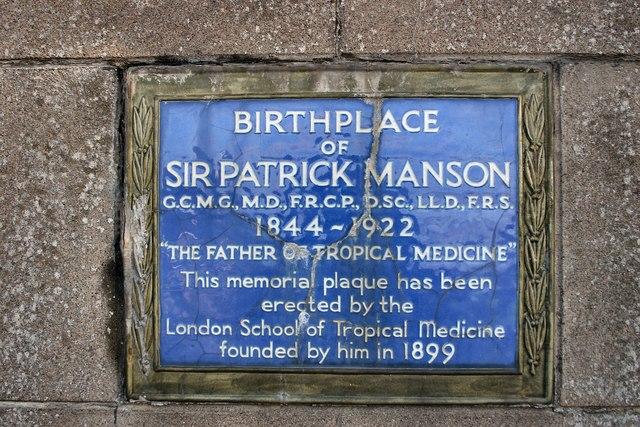 Birthplace of Patrick Manson, Oldmeldrum