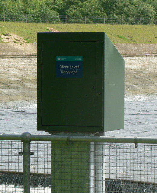 Environment Agency River Level Recorder