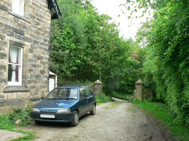 Path by Lindley Bridge Lodge