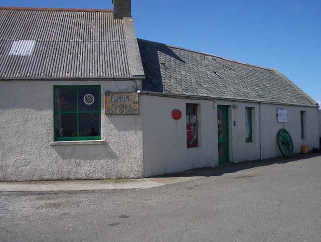Pub and post office, North Ronaldsay