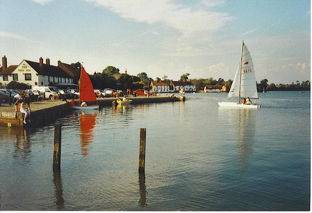 The Ship Inn, Langstone Harbour.