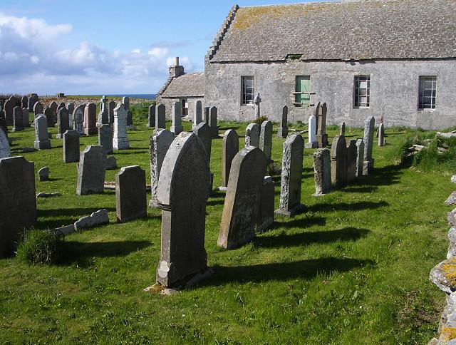 Burial ground, North Ronaldsay