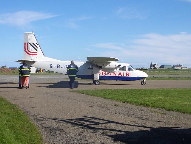 North Ronaldsay airstrip