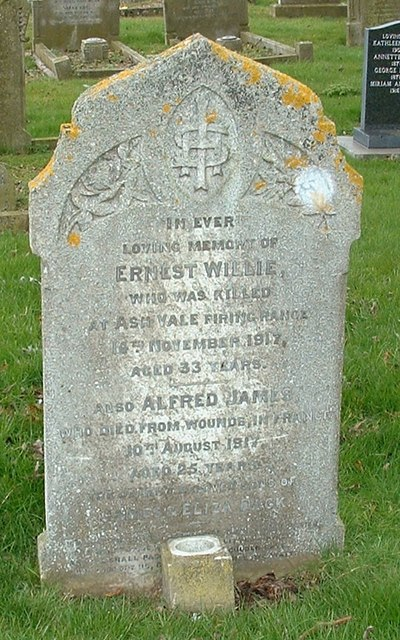 Dack grave - Wesleyan churchyard, Terrington St Clement