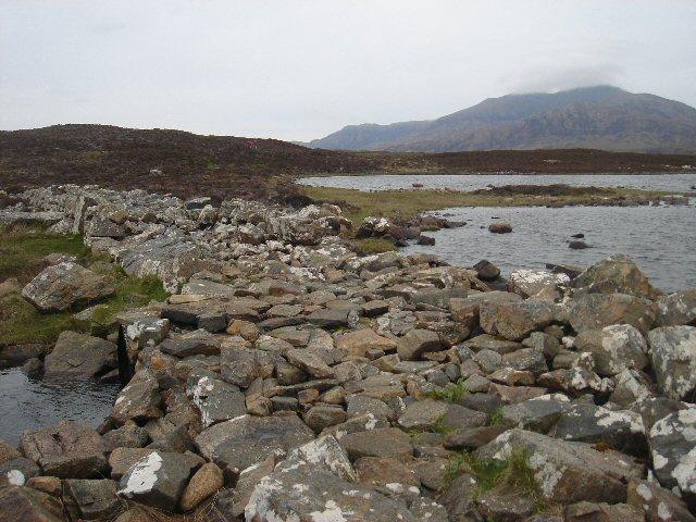 Causeway at Loch Druidibeg