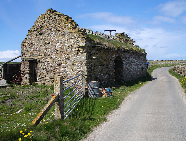 Old water mill, North Ronaldsay