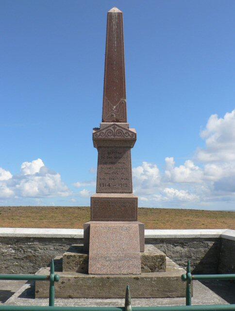 War memorial, Papa Westray