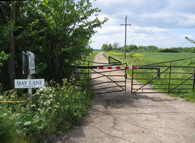 Hay Lane, Cottenham, Cambs