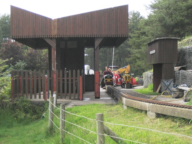 Miniature railway at Pembrey Country Park