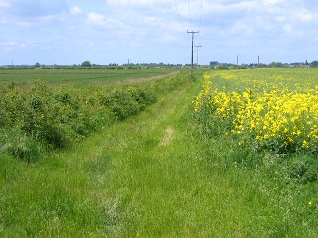 Permissive footpath, Landbeach, Cambs