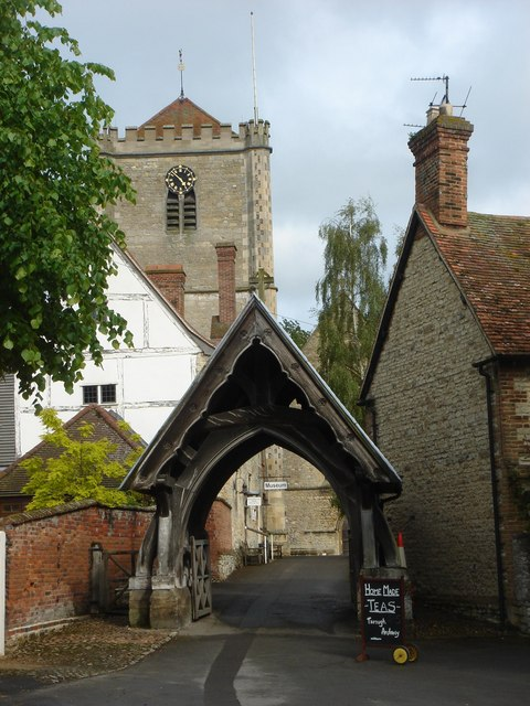 Dorchester Abbey lychgate