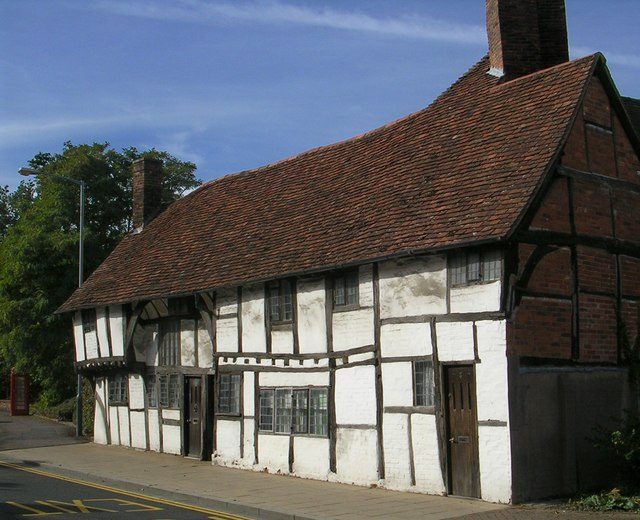 Medieval,  Partially Jettied,House, Stratford-upon-Avon