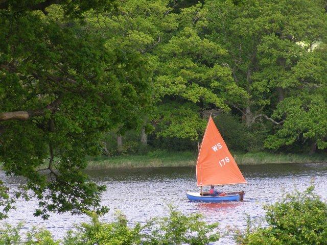 Sailing on the Beaulieu River