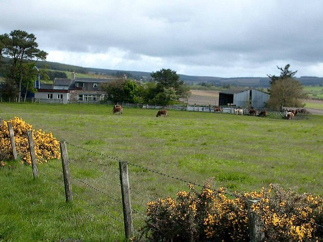 Bonnethill Farm near Keith