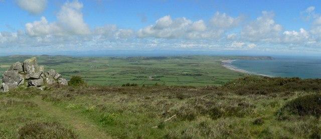 The view from Pen-y-mynydd, Rhiw